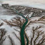 Colorado River Delta #2 - Near San Felipe, Baja, Mexico, 2011 - Edward Burtynsky